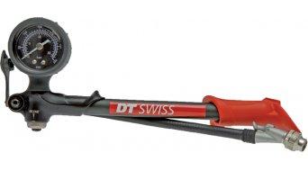 DT Swiss bomba de presión para DT amortiguador & horquillas rojo/negro 20bar/300PSI