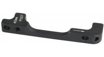 Avid adaptador 40P PM acero para 200mm parte delantera/180mm parte trasera (estándar/Postmount 40mm) sin tornillos y arandelas