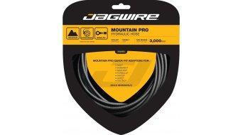 Jagwire Mountain Pro Hydraulik Bremsleitungsset carbon schwarz (3000mm)