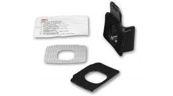 Lupine 3M Dual Lock Helmhalter Set für FastClick Batterymount