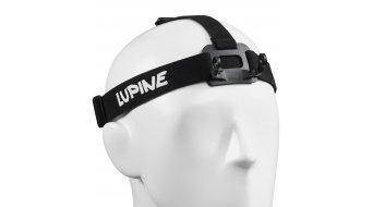 Lupine Stirnband für Piko / Piko R FastClick schwarz