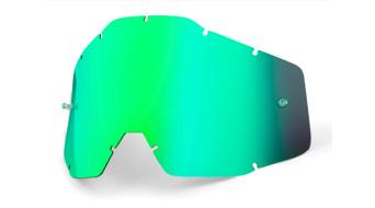 100% Vented Dual Goggle Ersatzscheibe (Anti-fog lens)