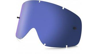 Oakley sin Frame MX Lexan cristal de recambio negro ice iridium