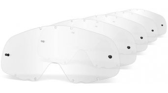 Oakley Crowbar MX Lexan cristal de recambio clear de 5 unidades