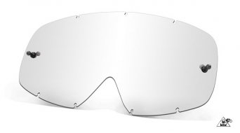 Oakley sin Frame MX Lexan cristal de recambio clear de 5 unidades