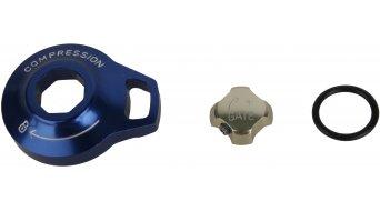 Rock Shox pièce de rechange aluminium bouton de réglage Compression Knob/External Floodgate Adjuster Knob aluminium, Motion Control- SID Reba Revelation (09-10)