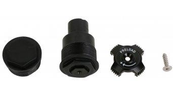 Rock Shox Ersatzteil Aluminium Einstellknopf Recon Topkappe, 32mm (Aluminium Pre-Load & Non Adjust)