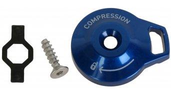 Rock Shox pieza de recambio aluminio botón de ajustado niveles de presión botón de ajustado, Motion Control non-Remote, Reba RL/Recon/Sektor dorado(-a)