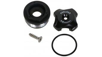 Rock Shox pièce de rechange aluminium bouton de réglage Top Cap/Preload Adjuster Knob, aluminium minum 2011 Tora TK, 2012 XC30