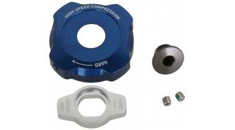 Rock Shox Ersatzteil Aluminium Einstellknopf Knob Kit, Compression Damper, Mission Control DH, 2012 Lyrik/Totem,