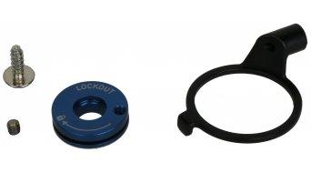 Rock Shox pièce de rechange aluminium bouton de réglage Remote Spool and Clamp kit 2013, XC32/Recon argent
