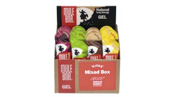 MuleBar Kicks Energy Gel 37 gr. Mixed Flavours- Box a 24 uds.
