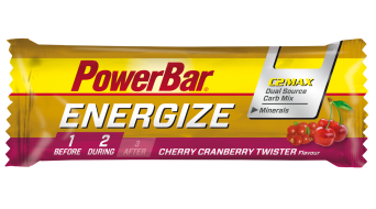 PowerBar Energize C2MAX 55g barra Cherry Cranberry Twister