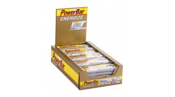 PowerBar Energize C2MAX 55 gr. barrita Caffeinated Coconut-Crisp- uno(-a) Box, contenido = 25 uds.