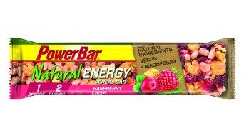 PowerBar Natural Energy Cereal 40g Riegel Raspberry Crisp