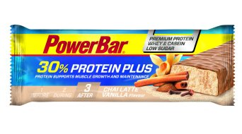 PowerBar ProteinPlus Bar 30% 55g Riegel Chai Latte Vanilla low sugar