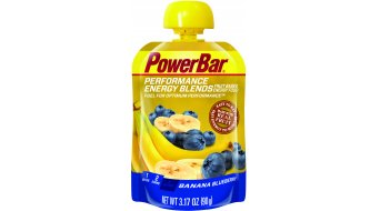 PowerBar Performance Energy Blends 90g Fruchtpüree Banane Heidelbeer - Mindesthaltbarkeit 30.04.2016