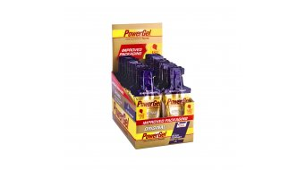 PowerBar Gel C2MAX 41g Beutel Black Currant + Koffein - eine Box, Inhalt = 24 Stk.