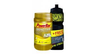 Powerbar Isoactive Sportsdrink Onpack 600g Dose Lemon + Gratis Trinkflasche 0,7L