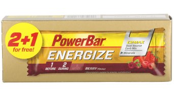 PowerBar Triopack Energize C2MAX 55g barra Berry (3 Pack)- MINDESTHALTBARKEIT 31.12.2016