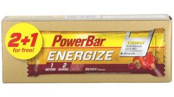 PowerBar Triopack Energize C2MAX 55 gr. barrita Berry (de 3 unidades)- fecha de caducidad 31.12.2016