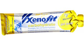 Xenofit carbohydrate gel Drink sac 60ml Maracuja- (limite de consommation 29.02.2016)