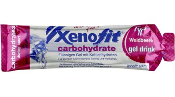 Xenofit carbohydrate Gel Drink 袋 60ml 森林浆果