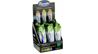 Xenofit carbohydrate Gel Drink Beutel 60ml Mate/Zitrone - BOX á 21 Stück