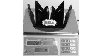 Bell Full-9 visera de recambio blanco/negro carbono