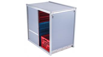 Urban Arrow Flatbed XL Cargobox Sliderbox XL Türe 2 Seitig