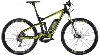 Bergamont E-Line Contrail C 6.0 29 E-Bike MTB bici completa Caballeros-rueda tamaño L negro/verde/blanco color apagado Mod. 2015