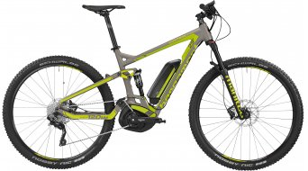 Bergamont E-Line Contrail C 6.0 400 29 E-Bike MTB Komplettbike Herren-Rad lava grey/lime Mod. 2016