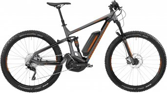 Bergamont E-Contrail 6.0 Plus 650B+ / 27.5+ MTB E-Bike Komplettbike dark silver/orange (matt/shiny) Mod. 2017