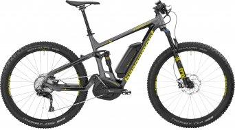 Bergamont E-Contrail 8.0 Plus 650B+ / 27.5+ MTB E-Bike Komplettbike dark silver/yellow (matt/shiny) Mod. 2017