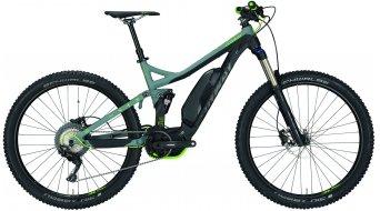 """Conway eWME 327 27.5""""/650B MTB(山地) E-Bike 整车 型号 black matt/grey/青柠色 款型 2018"""