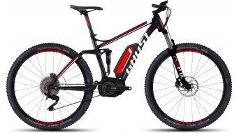 Ghost Teru FS 7 29 E-Bike bici completa tamaño S negro/rojo/blanco Mod. 2016