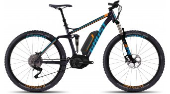 Ghost Teru FS 9 29 E-Bike Komplettbike black/blue/orange Mod. 2016