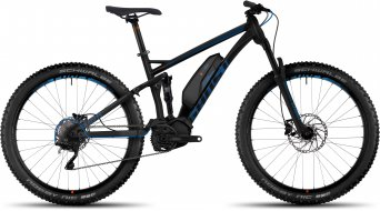 Ghost Kato FS 4 AL 650B/27.5+ E-Bike 整车 型号 black/riot blue/monarch 橙色 款型 2017