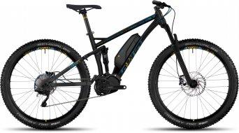 Ghost Lanao FS 4 AL 650B/27.5+ E-Bike bici completa da donna . black/arctic blue/amber yellow mod. 2017
