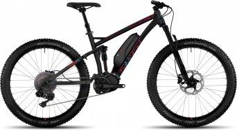 Ghost Lanao FS 8 AL 650B/27.5+ E-Bike bici completa da donna . black/lake blue/riot red mod. 2017
