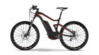Haibike XDURO FullSeven Carbon RX 27.5 MTB E-Bike UD carbon/cyan/rot matt Bosch Performance CX-Antrieb Mod. 2016
