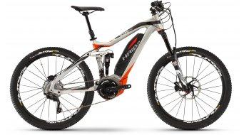 Haibike SDURO AllMtn PRO e:i shock 27.5 MTB MTB elektromos kerékpár Méret 40cm scotchbrite/fekete/piros matt 2016 Modell
