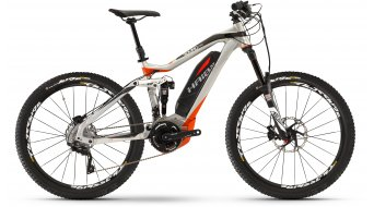 Haibike SDURO AllMtn PRO e:i shock 27.5 MTB MTB E-Bike tamaño 40cm scotchbrite/negro/rojo color apagado Mod. 2016
