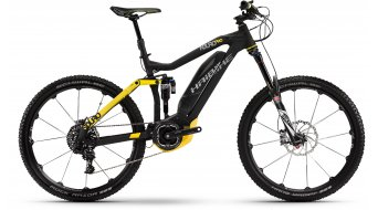 Haibike SDURO Nduro Pro 27.5 MTB E-Bike anthrazit/gelb matt Yamaha-Antrieb Mod. 2016