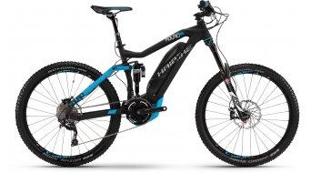 Haibike SDURO Nduro RX 27.5 MTB E-Bike anthrazit/blau matt Yamaha-Antrieb Mod. 2016