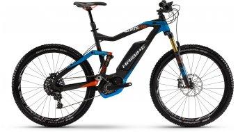 Haibike XDURO AllMtn Pro 27.5 MTB E-Bike negro(-a)/azul/rojo(-a) color apagado Bosch Performance CX-tracción Mod. 2016