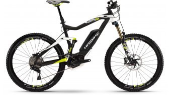 Haibike XDURO AllMtn RX 27.5 MTB E-Bike Gr. 54cm schwarz/weiß/lime matt Bosch Performance CX-Antrieb Mod. 2016