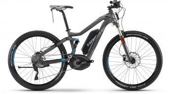 Haibike XDURO FullSeven S RX 27.5 MTB E-Bike S-Pedelec anthrazit/cyan matt Bosch Performance 45km/h-Antrieb Mod. 2016