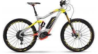 Haibike XDURO Nduro Pro 27.5 MTB E-Bike color plata/amarillo/rojo color apagado Bosch Performance CX-tracción Mod. 2016