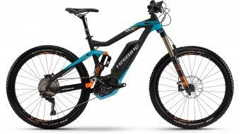 Haibike XDURO Nduro RX 27.5 MTB E-Bike Gr. 43cm schwarz/cyan/rot matt Bosch Performance CX-Antrieb Mod. 2016
